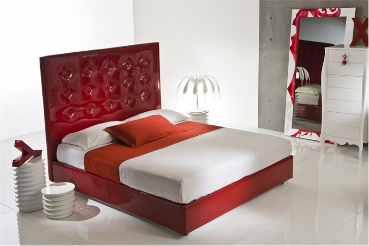 Double bed from Feeling Moda